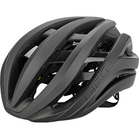 Giro Aether MIPS Casco, mat black/flash